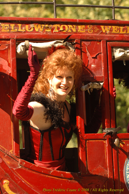 Sharon in Paris Stagecoach