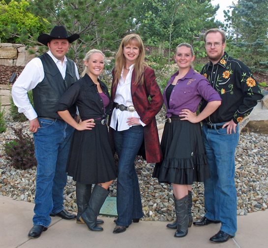 Square Dance Caller Sharon Guli with Team Building