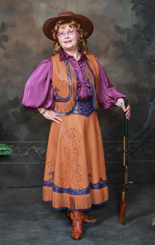 Rhinestone Cowgirl Outfit on Copper Queen