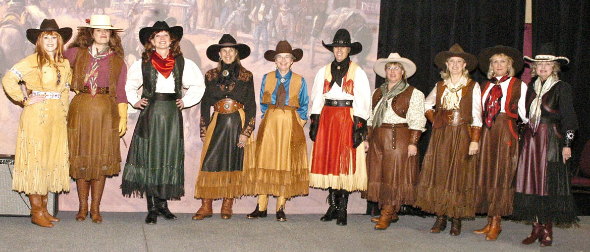 The Cowgirls of SASS at Las Vegas Convention Fashion Show