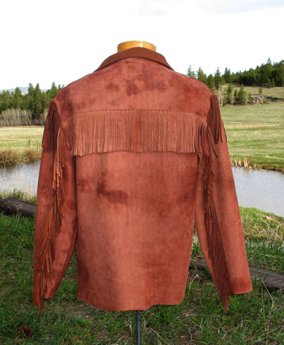 Hondo shirt back view