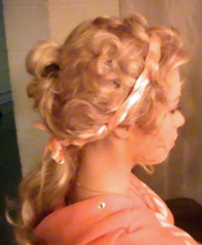Jane Austen Pride and Prejudice wig
