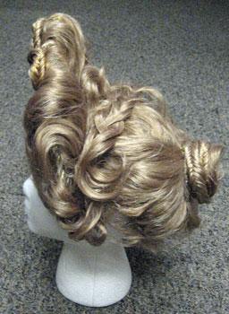 Pompeii Exnibit Flavian Wig style