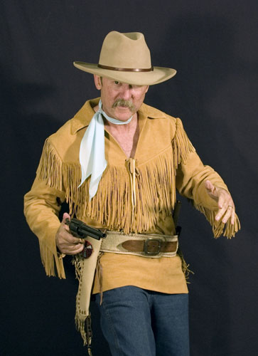 Bob Boze Bell in Range Rider Shirt