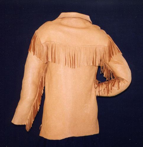 Shane shirt back view