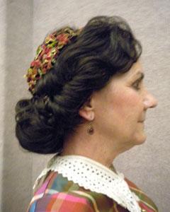 Civil War Victorian wig style