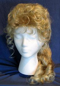 Victorian wig - spiral cascade