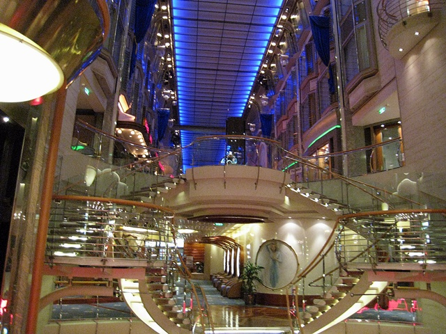 Between decks on the Mariner of the Seas