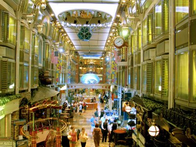 Grand Promenade on the Mariner of the Seas