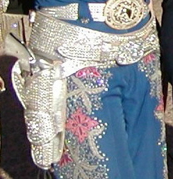 Rhinestone Gunbelt and Holster