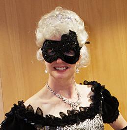 Masquerade White Wig